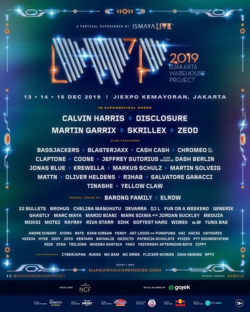 DWP FULL lineup