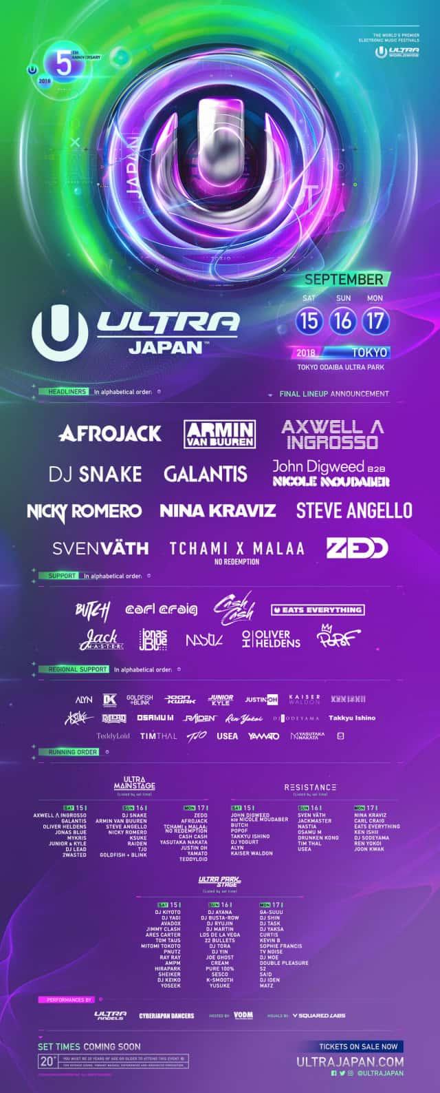 Ultra Japan 2018