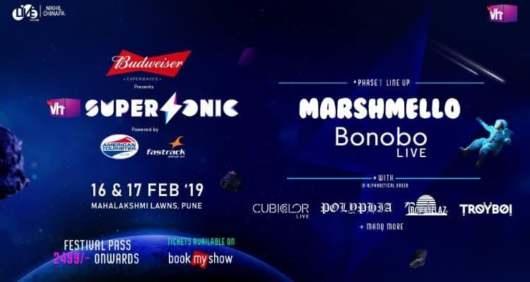 Vh1 SuperSonic Festival 2019